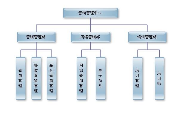 营销管理中心组织结构